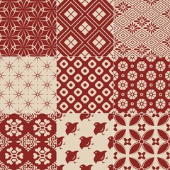 vintage japanese traditional pattern