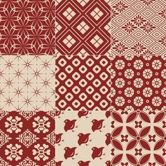 vintage japanese traditional pattern