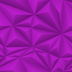 Purple Abstract Polygon Background Tile