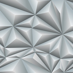 White Abstract Polygon Background Tile