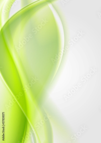 Bright wavy abstract design