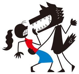 危険な男に口説かれる女性