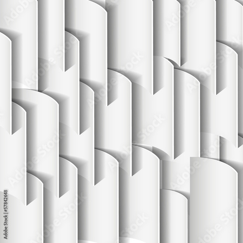 куски бумаги на сером фоне