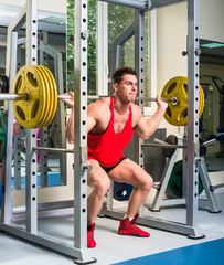 weightlifter squats