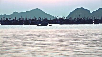 Ha Long Bay, Cat Ba Island, Vietnam Stock Photo: