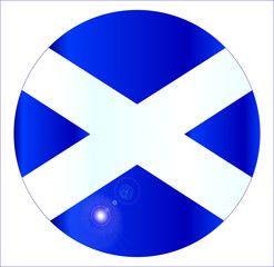 Scotish Flag Button