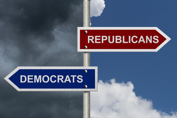 Republicans versus Democrats