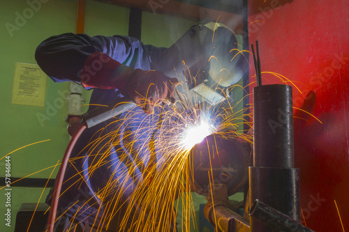 welder at location
