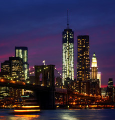 Night at  New York City