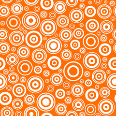 Seamless texture with concentric circles.