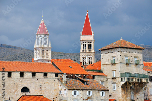 Trogir city center