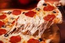 """Постер, картина, фотообои """"Hot Pizza"""""""