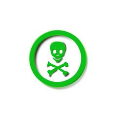 logo pirata verde