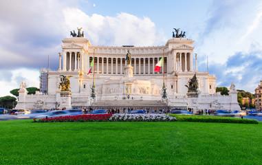 Monument Vittorio Emanuele II, Altar Fatherland in Roma, Italy