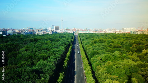 View of Berlin, aerial