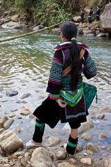 Black Hmong girl