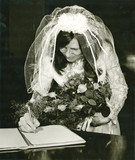 The Bride (the document is signed) - circa 1970