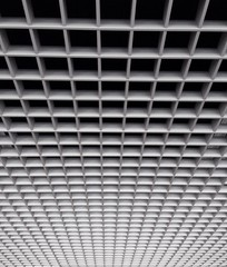 Grid rack ceiling