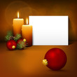 Weihnachten, Weihnachtskarte, Stillleben, Stimmung, besinnlich