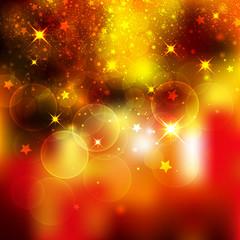 Hintergrund, Weihnachten, Lichter, Stimmung, Funkeln, Partikel