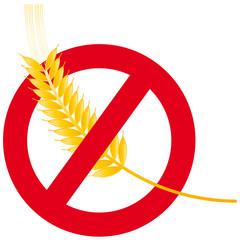 Getreideähre - Gluten - glutenfrei - Ernährung