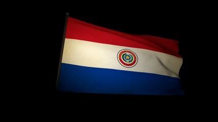 flag paraguay 01