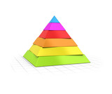 Layered Pyramid Six Levels