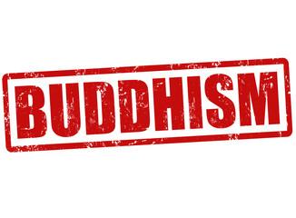 Buddhism stamp
