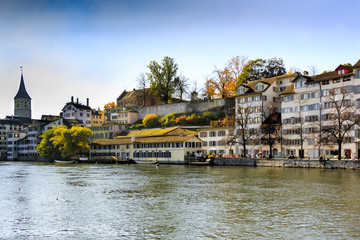 Zurich in autumn