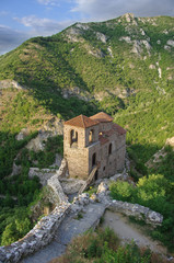 Chuch Of Assen's Fortress and Rhodope Mountains, Bulgaria