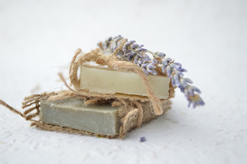 soap with lavander