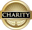 Charity Gold Vintage Label