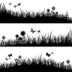 Blumenwiese - Black Megaset