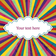 retro  background for your text