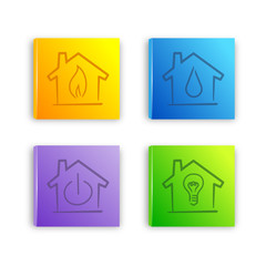 house icon set 2013_11 - 01