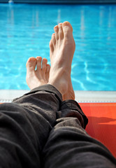 Entspannen im Urlaub - Relaxing at the Pool