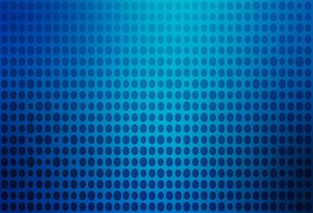 Blue dots on blue background.