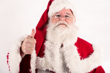 Santa Claus thumb up