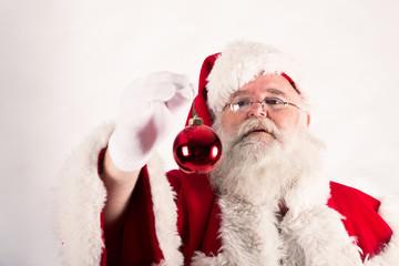 Babbo Natale con pallina