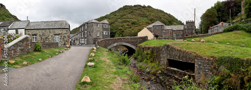 Boscastle, Traditional Cornish village, Cornwall, England