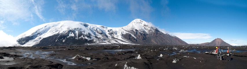 trekking on Kamchatka