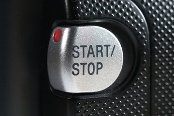 Start Stop Button Closeup