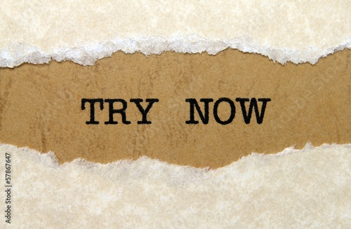 Try now