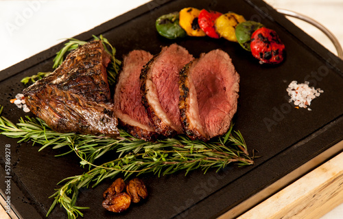 Australian premium fillet tenderloin steak.