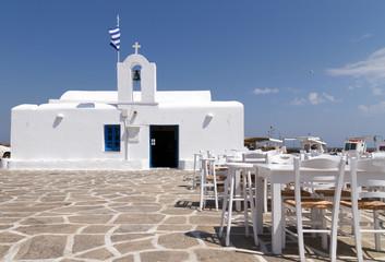 restaurant taverns in greek island