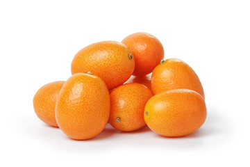 ripe kumquat fruits