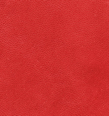 red leather as background