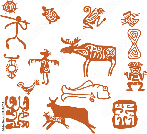 Tribal drawings
