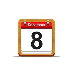 December 8.