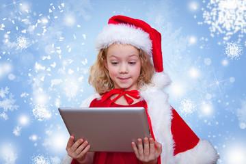 weihnachten mit tablet